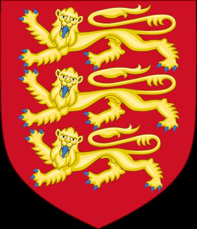 Герб Англии (1198—1340)